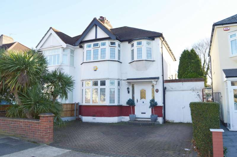 3 Bedrooms Semi Detached House for sale in Carlton Road, Gidea Park