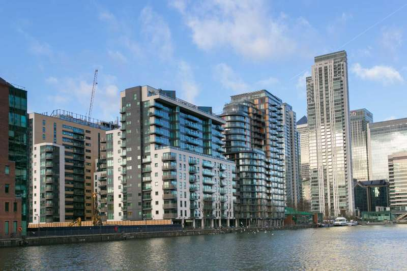 2 Bedrooms Apartment Flat for sale in Millharbour, London,E14 9NE