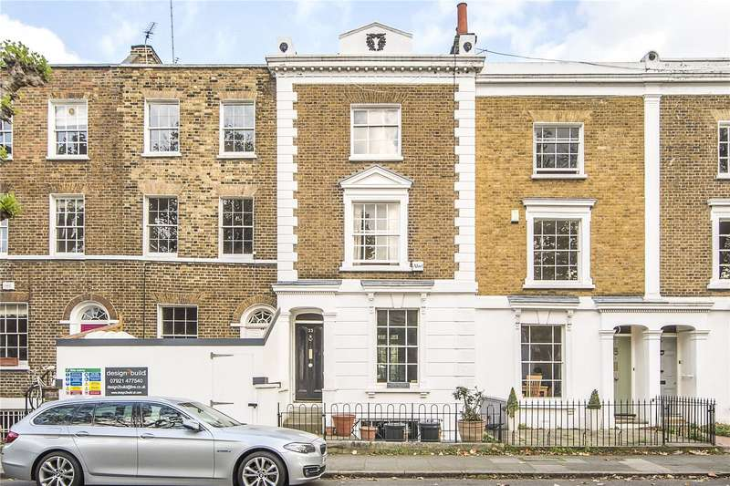 4 Bedrooms Terraced House for sale in Cleaver Square, London, SE11