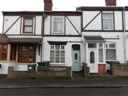 2 Bedrooms Terraced House for sale in Vernon Road, Oldbury, Birmingham, West Midlands