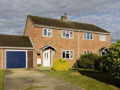 3 Bedrooms Semi Detached House for sale in Witchford, Ely, Cambridgeshire