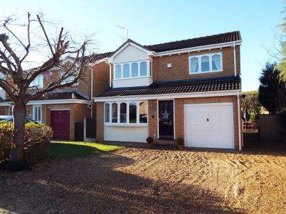 4 Bedrooms Detached House for sale in Hooley Close, Long Eaton, Nottingham