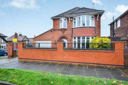 3 Bedrooms Detached House for sale in Beech Hill Crescent, Mansfield, Nottinghamshire