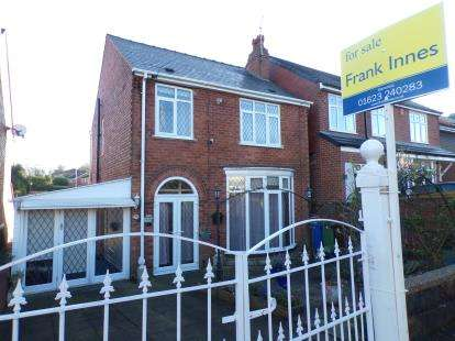 3 Bedrooms Detached House for sale in Racecourse Road, Mansfield, Nottinghamshire
