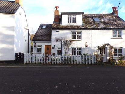 3 Bedrooms Semi Detached House for sale in The Green, Marston Moretaine, Bedford, Bedfordshire