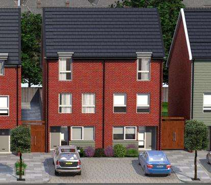 4 Bedrooms Semi Detached House for sale in Austin Mews, Austin Canons, Kempston