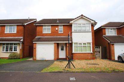 4 Bedrooms Detached House for sale in Britten Close, Blackburn, Lancashire, BB2