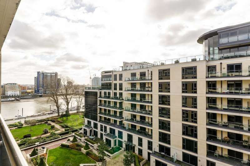 2 Bedrooms Flat for sale in Marina Point, Imperial Wharf, SW6