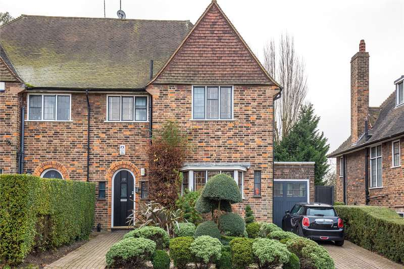 4 Bedrooms Semi Detached House for sale in Brim Hill, East Finchley, London, N2