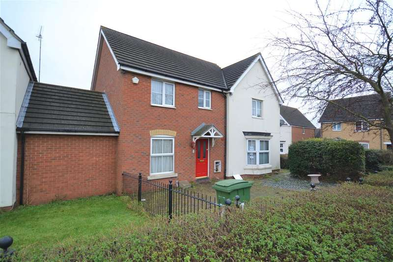 3 Bedrooms Semi Detached House for sale in Hill House Drive, Chadwell St.Mary