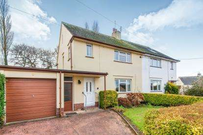 3 Bedrooms Semi Detached House for sale in Woodbury, Exeter, Devon