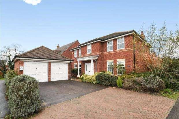 4 Bedrooms Detached House for sale in Deardon Way, Shinfield, Reading