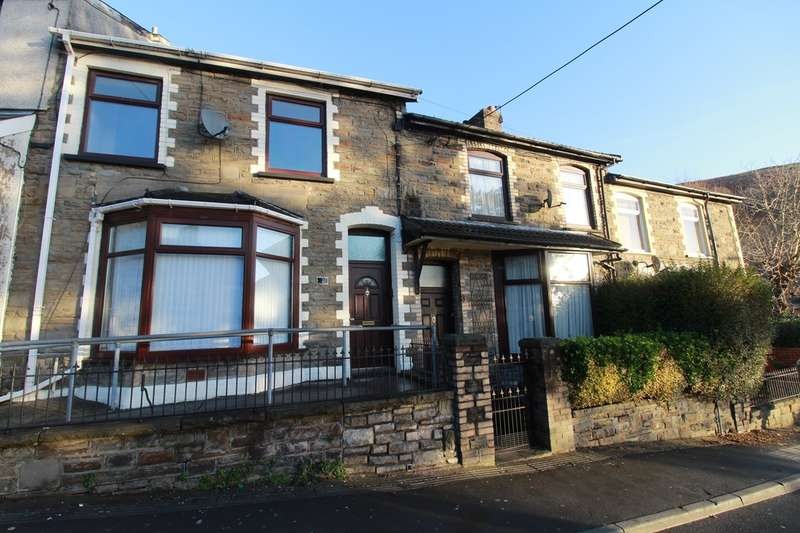 3 Bedrooms Terraced House for sale in Rose Villas, Elliots Town, New Tredegar, NP24