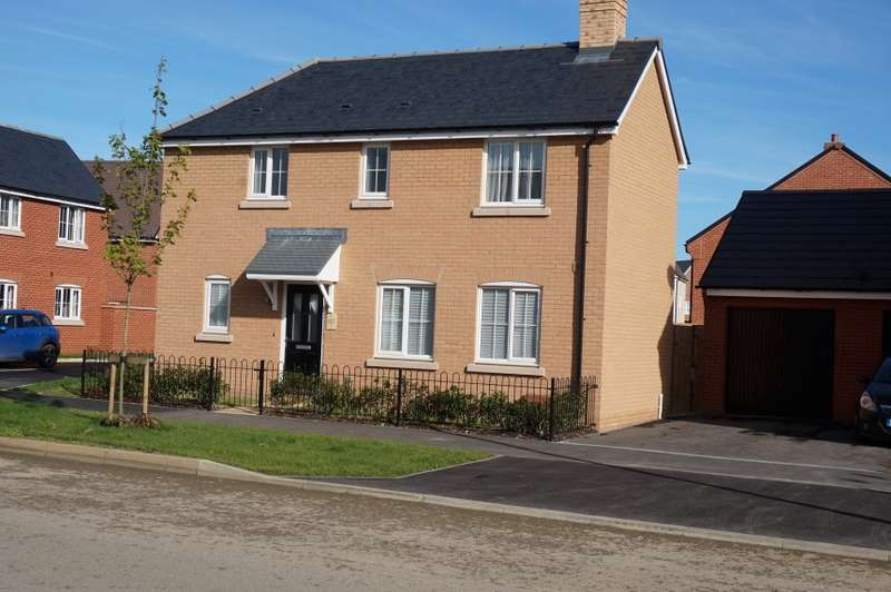 3 Bedrooms Detached House for sale in Paradise Orchard, Aylesbury, Buckinghamshire, HP18 0WQ