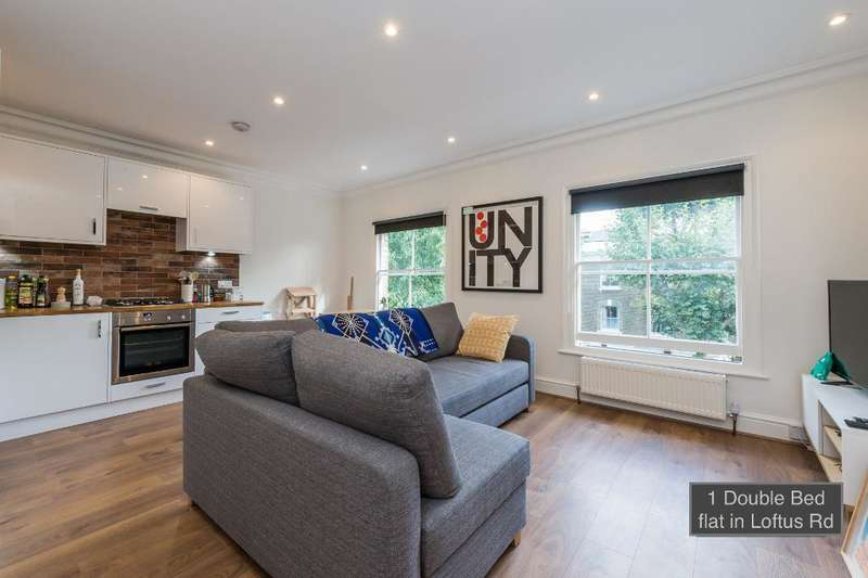 1 Bedroom Flat for rent in Loftus Rd, London, W12 7EH