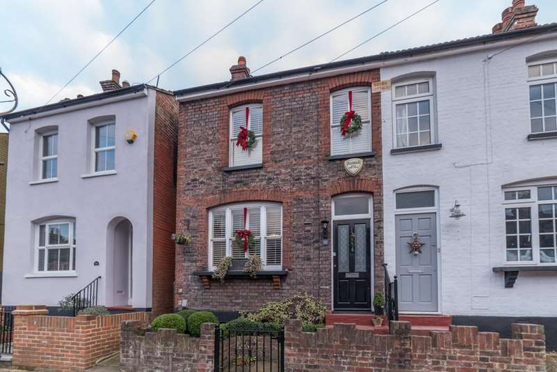 3 Bedrooms Semi Detached House for sale in Cannon Street, St. Albans, Hertfordshire, AL3