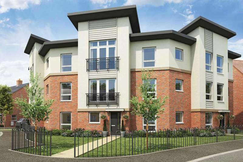 2 Bedrooms Apartment Flat for sale in Plot 551 Minerva, Saxon Fields, Biggleswade