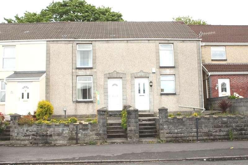 2 Bedrooms Terraced House for sale in Trallwn Road, Llansamlet, Swansea