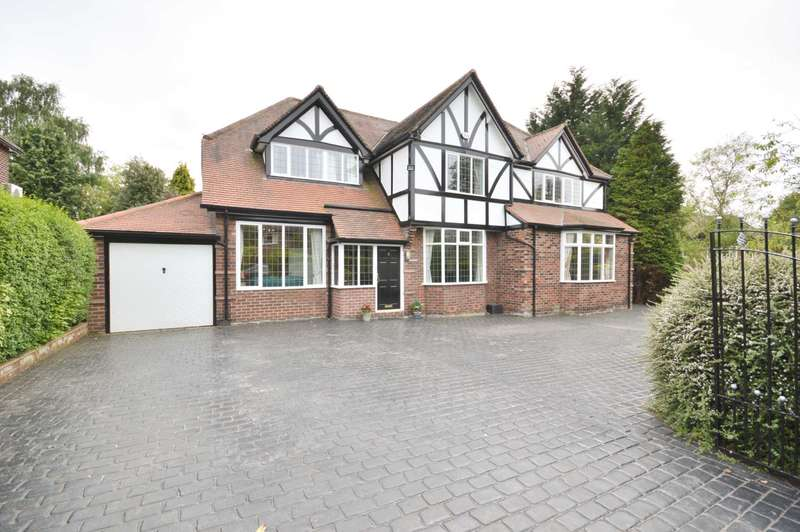 5 Bedrooms Detached House for sale in SOUTHERN CRESCENT, Bramhall