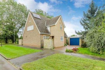 4 Bedrooms Detached House for sale in Hornbeam Close, Podington, Wellingborough