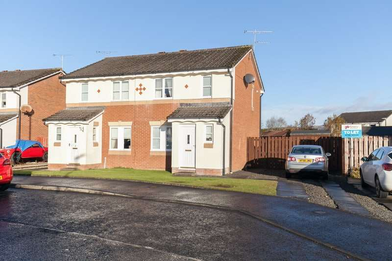 3 Bedrooms Semi Detached House for sale in Glaive Ave, Stirling, Stirlingshire, FK7