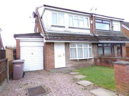 3 Bedrooms Semi Detached House for sale in Chestnut Avenue, Haydock, St. Helens, Merseyside, WA11