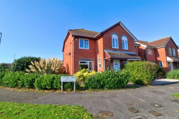 3 Bedrooms Semi Detached House for sale in Pentland Close, Eastbourne, BN23