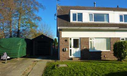 3 Bedrooms Semi Detached House for sale in Gleneagles Road, Darlington