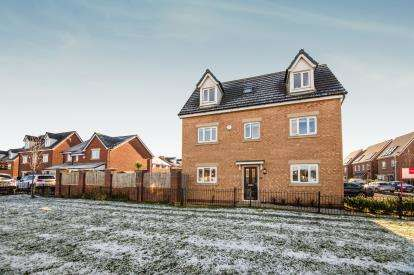 4 Bedrooms Detached House for sale in Moss Lane, Worsley, Manchester, Greater Manchester