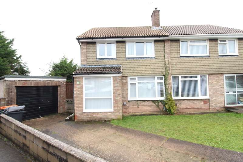 3 Bedrooms Semi Detached House for sale in Wistaria Close, Newport, NP20
