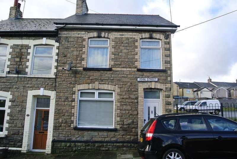 3 Bedrooms End Of Terrace House for sale in John Street, Pontypool, NP4