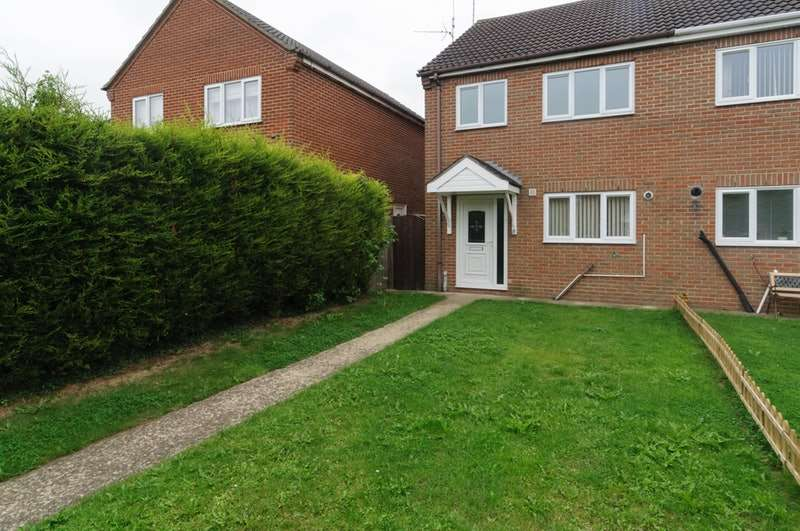 3 Bedrooms Semi Detached House for sale in The Paddocks, Spalding, Lincolnshire, PE12