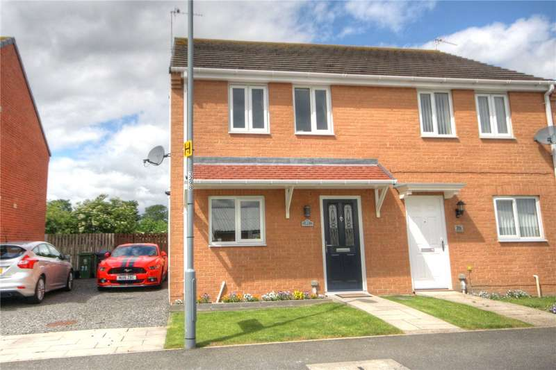 3 Bedrooms Semi Detached House for sale in Oakley Manor, West Auckland, Bishop Auckland, DL14