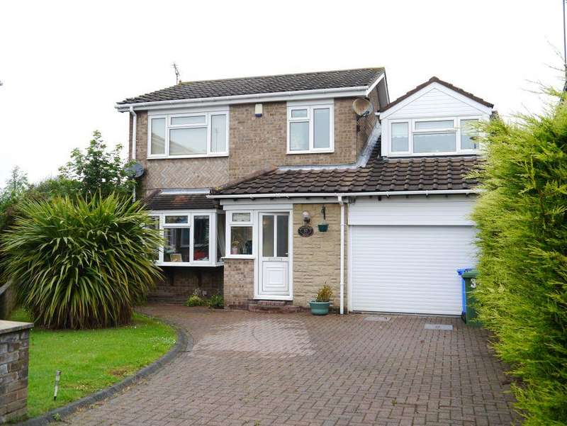 4 Bedrooms Detached House for sale in Kingswood Road, Eastfield Dale, Cramlington