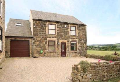 4 Bedrooms Detached House for sale in Hundall Lane, Apperknowle, Dronfield, Derbyshire