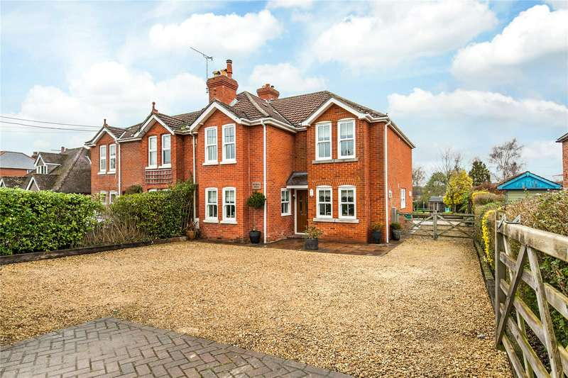 4 Bedrooms Semi Detached House for sale in Forest Road, Swanmore, Hampshire, SO32