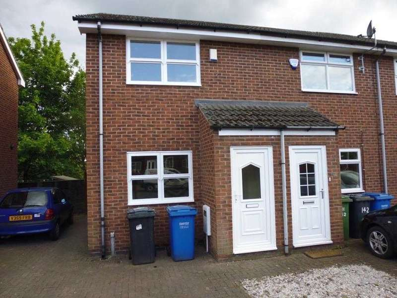 2 Bedrooms Town House for rent in Holland Road, Chesterfield