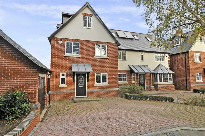 5 Bedrooms Semi Detached House for sale in Vicarage Road, Old Moulsham