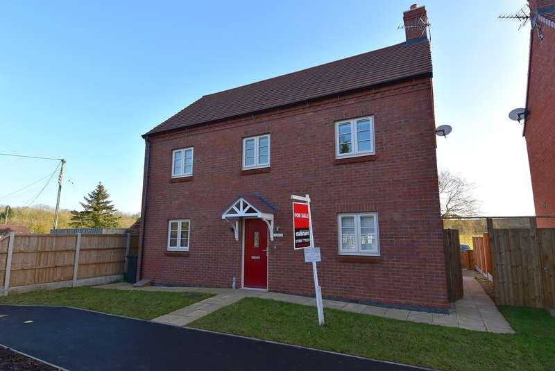 3 Bedrooms Detached House for sale in Droitwich Road, Hanbury, Droitwich, B60