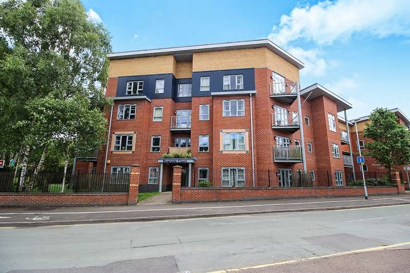 2 Bedrooms Flat for sale in Girton Road, Cannock, WS11