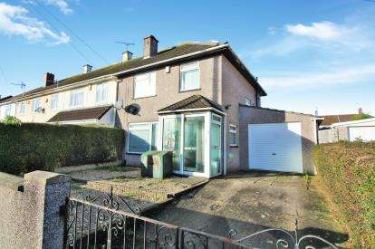 3 Bedrooms End Of Terrace House for sale in Ullswater Road, Southmead, Bristol