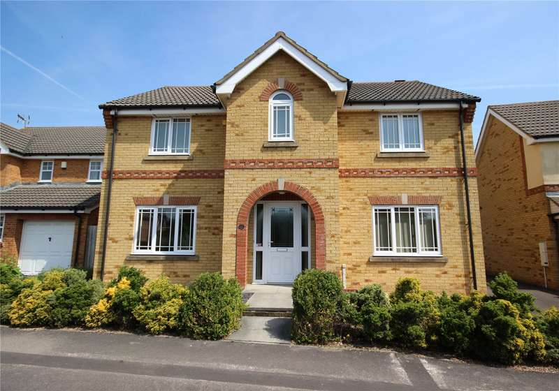4 Bedrooms Detached House for sale in Hawkins Crescent Bradley Stoke Bristol BS32