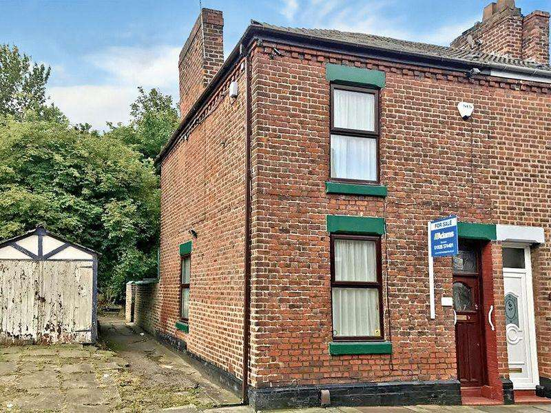 2 Bedrooms End Of Terrace House for sale in Parker Street, Runcorn