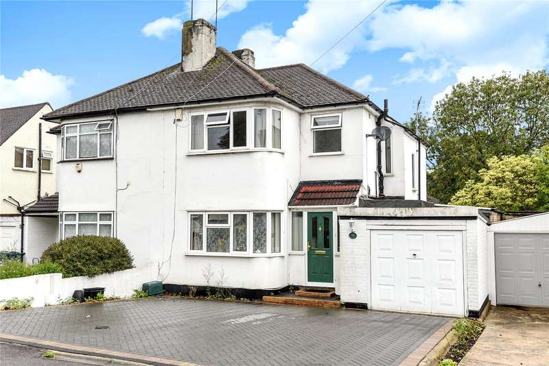 3 Bedrooms Semi Detached House for sale in Church Avenue, Pinner, Middlesex, HA5