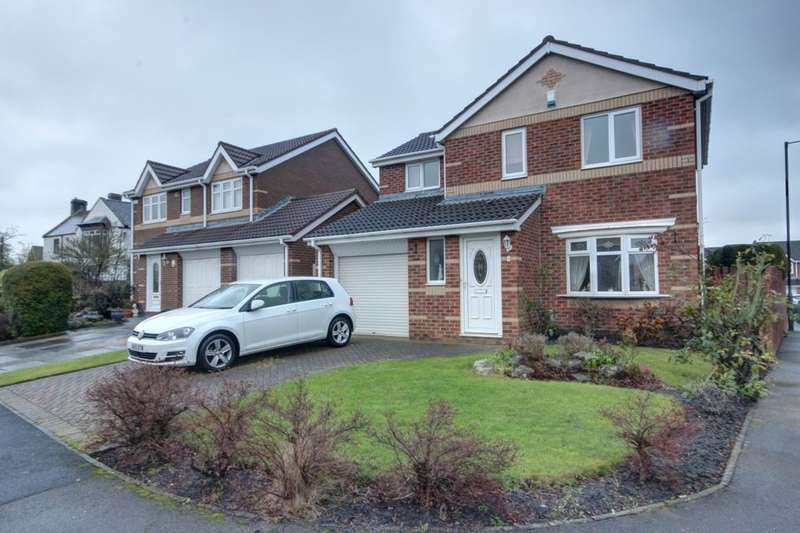 3 Bedrooms Detached House for sale in Birkdale Drive, Shiney Row, Houghton Le Spring, DH4