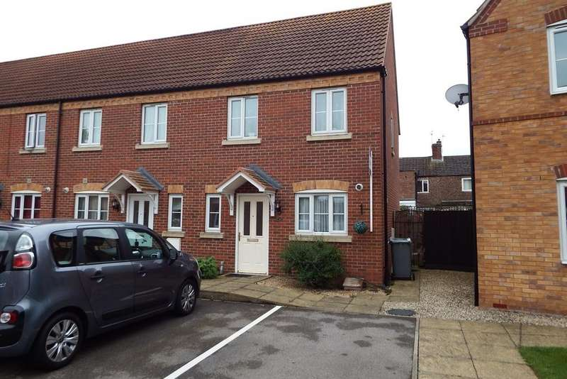 3 Bedrooms End Of Terrace House for sale in Thistle Gardens, Spalding, PE11
