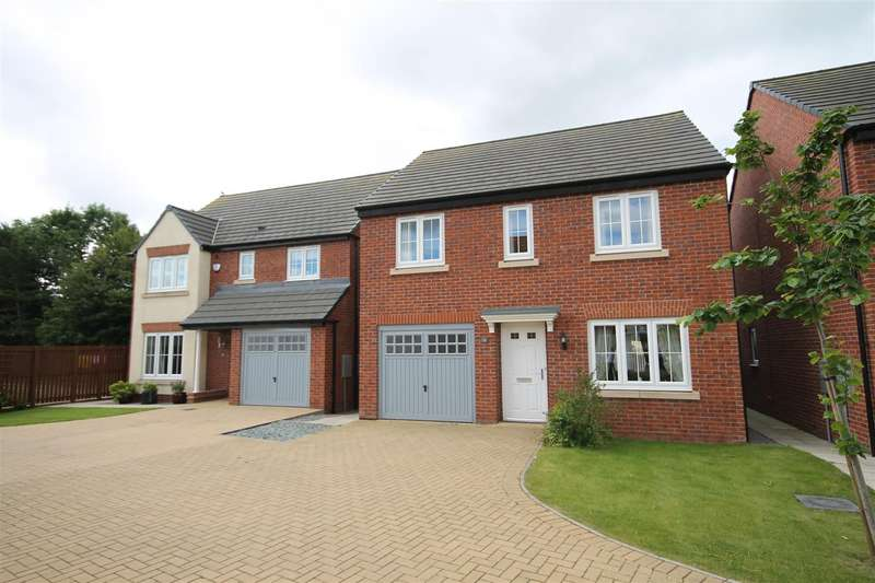 4 Bedrooms Detached House for sale in Sandgate, Coxhoe, Durham