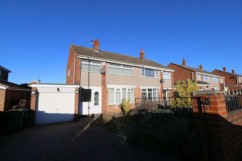 3 Bedrooms Semi Detached House for sale in Esher Avenue, Normanby, Middlesbrough, North Yorkshire, TS6 0SH