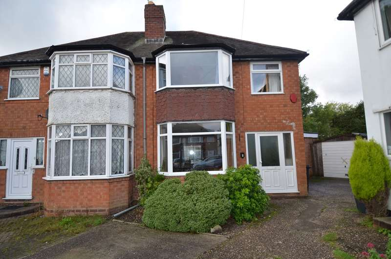 3 Bedrooms Semi Detached House for sale in Wilde Close, Kings Heath, Birmingham, B14