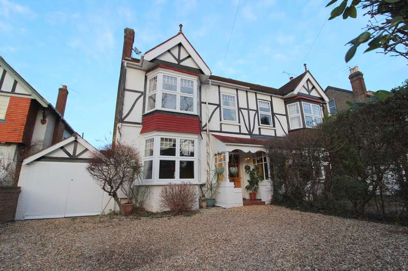 4 Bedrooms Semi Detached House for sale in Manor Road, Ashford, Middlesex, TW15